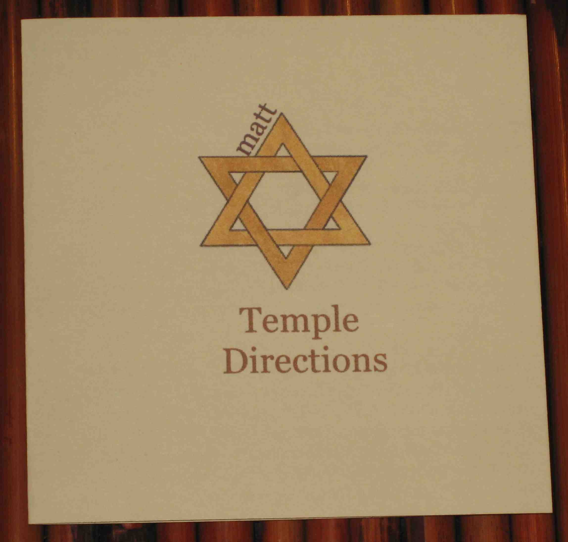 Temple Directions